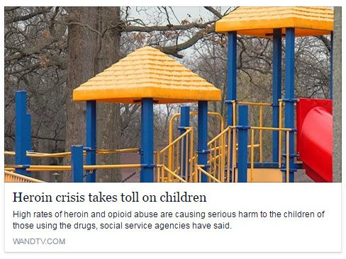 Heroin crisis takes toll on children